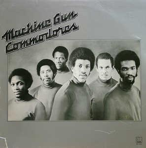 Album  Cover Commodores - Machine Gun on MOTOWN Records from 1974