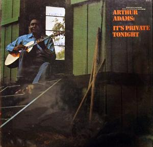 Album  Cover Arthur Adams - It's Private Tonight on BLUE THUMB Records from 1973