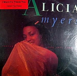 Album  Cover Alicia Myers - I Fooled You This Time on MCA Records from 1982