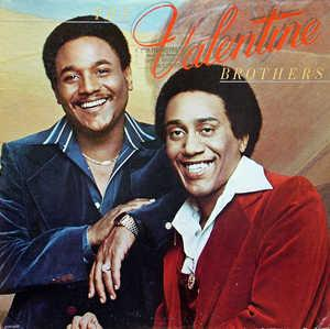 Front Cover Album The Valentine Brothers - The Valentine Brothers