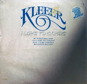 Front Cover Album Kleeer - I Love To Dance