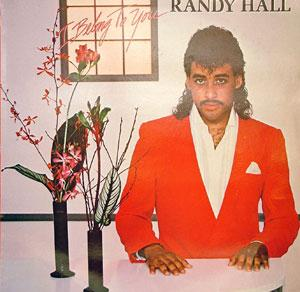 Front Cover Album Randy Hall - I Belong To You