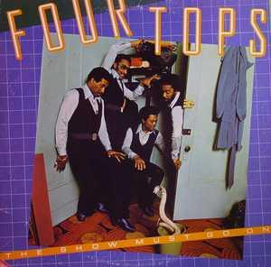 Album  Cover The Four Tops - The Show Must Go On on ABC Records from 1977