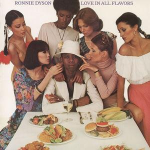 Album  Cover Ronnie Dyson - Love In All Flavours on COLUMBIA Records from 1977