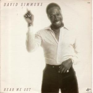 Front Cover Album David Simmons - Hear Me Out