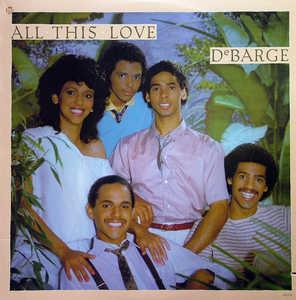 Front Cover Album Debarge - All This Love