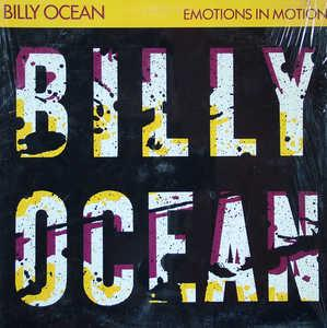 Album  Cover Billy Ocean - Emotions In Motion on JCI Records from 1986