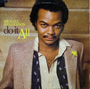 Album  Cover Michael Henderson - Do It All on BUDDAH Records from 1979