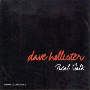 Album  Cover Dave Hollister - Real Talk on DREAMWORKS Records from 2003