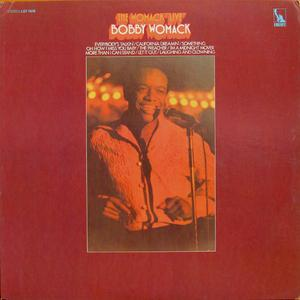 Front Cover Album Bobby Womack - The Womack Live