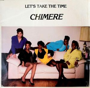 Album  Cover Chimere - Let's Take The Time on POT OF GOLD Records from 1984