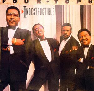 Album  Cover The Four Tops - Indestructible on MCA Records from 1988