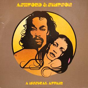 Album  Cover Ashford & Simpson - A Musical Affair on WARNER BROS. Records from 1980