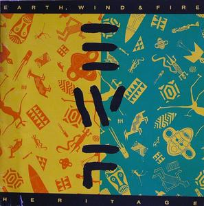 Album  Cover Earth Wind & Fire - Heritage on COLUMBIA Records from 1990