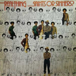 Album  Cover The Real Thing - ...saints Or Sinners on PYE Records from 1979