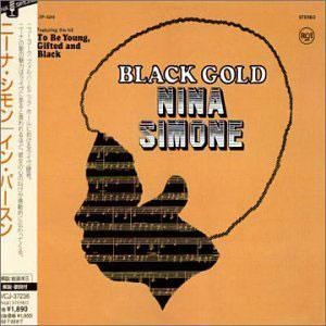 Album  Cover Nina Simone - Black Gold on RCA Records from 1970