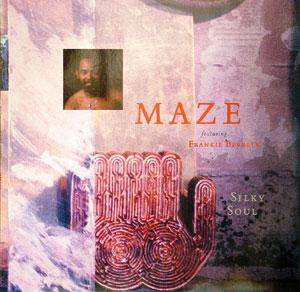 Album  Cover Maze - Silky Soul on WARNER BROS. Records from 1989