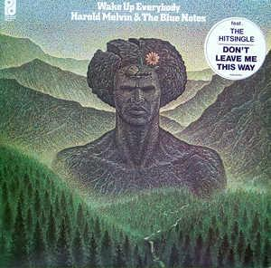 Album  Cover Harold Melvin & The Blue Notes - Wake Up Everybody on PHILADELPHIA INTERNATIONAL Records from 1975