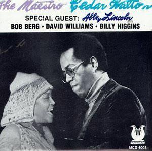 Album  Cover Cedar Walton - The Maestro on MUSE Records from 1980