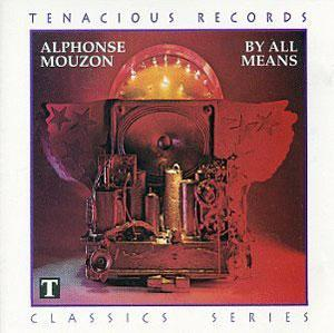 Album  Cover Alphonse Mouzon - By All Means on MPS Records from 1981