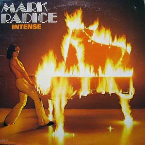 Album  Cover Mark Radice - Intense on ROADSHOW Records from 1977
