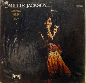 Album  Cover Millie Jackson - Millie Jackson on SPRING Records from 1972
