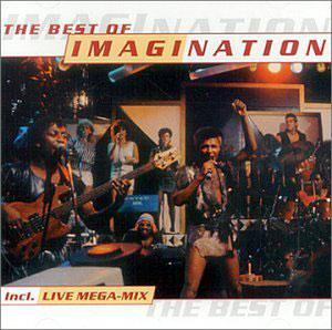 Album  Cover Imagination - The Best Of Imagination on ARCADE Records from 1988