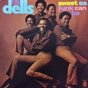 Album  Cover The Dells - Sweet As Funk Can Be on CADET Records from 1972