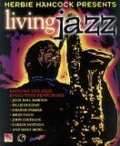 Album  Cover Herbie Hancock - Living Jazz on GRAPHIX ZONE Records from 1996