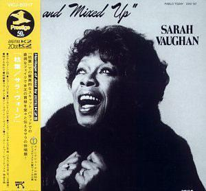 Album  Cover Sarah Vaughan - Crazy And Mixed Up on PABLO Records from 1982