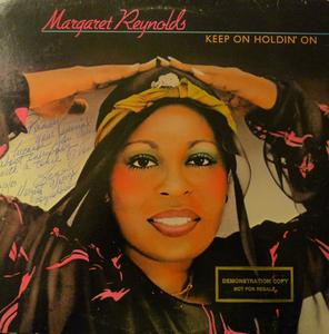 Album  Cover Margaret Reynolds - Keep On Holdin' On on MOBY DICK Records from 1982