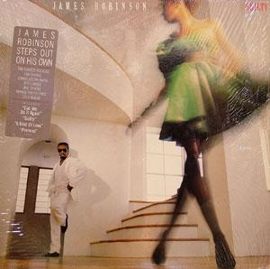 Album  Cover James Robinson - Guilty on TABU Records from 1987