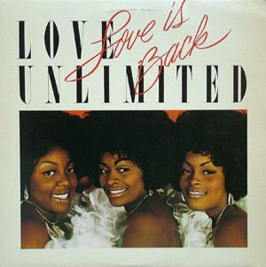 Album  Cover Love Unlimited - Love Is Back on UNLIMITED GOLD Records from 1980