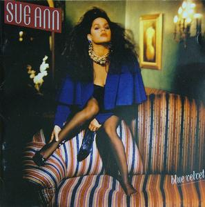 Front Cover Album Sue Ann Carwell - Blue Velvet