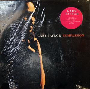 Front Cover Album Gary Taylor - Compassion  | virgin records | 1-90902 | US
