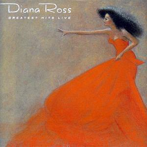 Album  Cover Diana Ross - Greatest Hits Live on MOTOWN Records from 1989