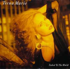 Front Cover Album Teena Marie - Naked To The World