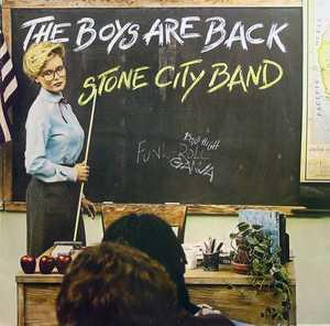 Album  Cover The Stone City Band - The Boys Are Back on GORDY Records from 1981