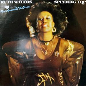 Album  Cover Ruth Waters - Spinning Top on POLYDOR Records from 1979