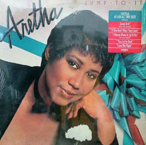Album  Cover Aretha Franklin - Jump To It on ARISTA Records from 1982