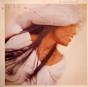Album  Cover Brenda Russell - Kiss Me With The Wind on ELEKTRA Records from 1990