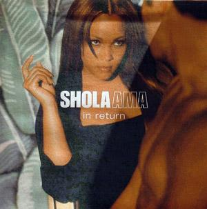Album  Cover Shola Ama - In Return on WEA Records from 1999