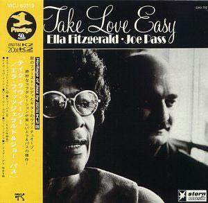 Album  Cover Ella Fitzgerald - Take Love Easy on PABLO Records from 1973