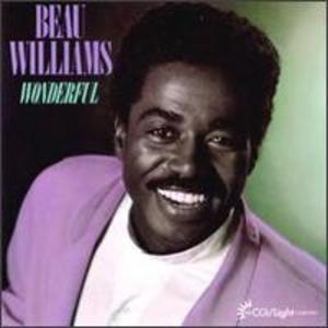 Album  Cover Beau Williams - Wonderful on LIGHT Records from 1989