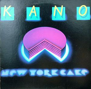 Album  Cover Kano - New York Cake on MIRAGE Records from 1981
