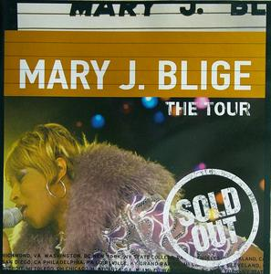 Album  Cover Mary J. Blige - The Tour (live) on MCA Records from 1998