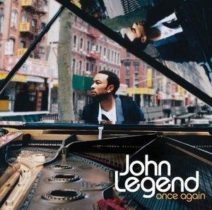 Album  Cover John Legend - Once Again on SONY Records from 2006