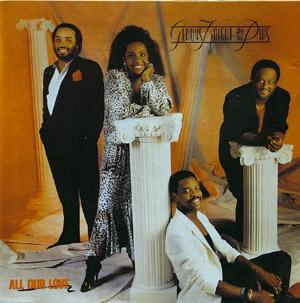 Album  Cover Gladys Knight & The Pips - All Our Love on MCA Records from 1987