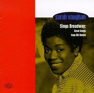 Album  Cover Sarah Vaughan - Sings Broadway: Great Songs From Hit Shows on VERVE Records from 1995