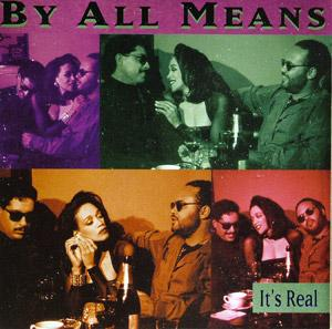 Front Cover Album By All Means - It's Real